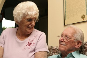 Elderly couple - welfare benefits project